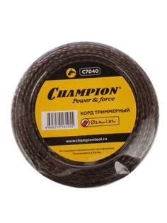 Аксессуар Леска для триммера Champion C7040 Magic 2.4mm x 87m