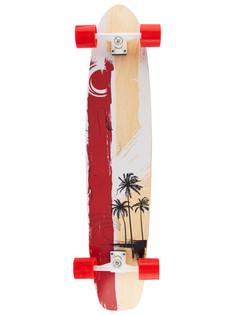 Скейт Larsen Hawaii N/C Red