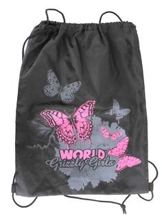 Мешок для обуви Grizzly Бабочки World Grizzly Girls Black