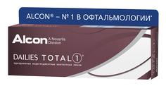 Контактные линзы Alcon Dailies Total 1 (30 линз / 8.5 / -2.5)
