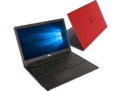 Ноутбук Dell Inspiron 3573 3573-6038 Red (Intel Celeron N4000 1.1 GHz/4096Mb/500Gb/DVD-RW/Intel HD Graphics/Wi-Fi/Cam/15.6/1366x768/Windows 10 64-bit)