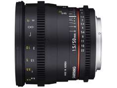 Объектив Samyang Sony / Minolta 50 mm T1.5 AS UMC VDSLR