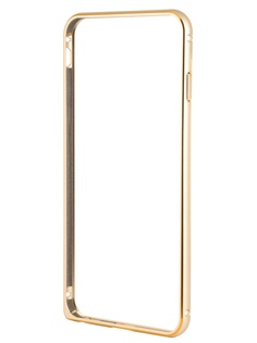Аксессуар Чехол-бампер Ainy for iPhone 6 Plus Gold QC-A014L