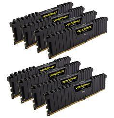 Модуль памяти Corsair Vengeance LPX DDR4 DIMM 2133MHz PC4-17000 CL13 - 64Gb KIT (8x8Gb) CMK64GX4M8A2133C13