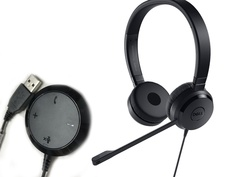 Dell Pro Stereo Headset UC350 520-AAMC