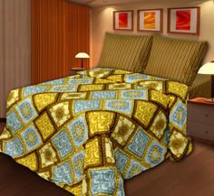 Постельное белье Art Cotton Старое золото Комплект 2 спальный Бязь