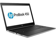 Ноутбук HP ProBook 450 G5 2RS25EA Silver (Intel Core i3-7100U 2.4 GHz/4096Mb/500Gb/No ODD/Intel HD Graphics/Wi-Fi/Bluetooth/Cam/15.6/1366x768/DOS)