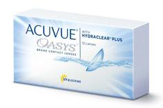 Контактные линзы Johnson & Johnson Acuvue Oasys with Hydraclear Plus (12 линз / 8.4 / -0.5)