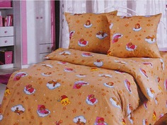 Постельное белье Артпостелька Облачко Комплект Детский Бязь Yellow 781201