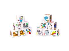 Кубики Десятое Королевство Английский алфавит 12 шт. 01737