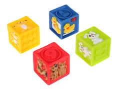 Игрушка Играем вместе Кубики с животными 4шт LXN-2-4