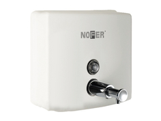 Дозатор Nofer Inox 1.2L для жидкого мыла White 03004.W