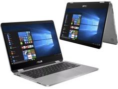 Ноутбук ASUS TP401CA-EC131T Grey 90NB0H21-M02870 (Intel Core i5-7Y54 1.2 GHz/4096Mb/128Gb SSD/Intel HD Graphics/Wi-Fi/Bluetooth/Cam/14.0/1920x1080/Touchscreen/Windows 10 Home 64-bit)