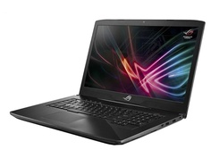 Ноутбук ASUS ROG GL703GE-GC101 90NR00D2-M04360 Aluminum Black (Intel Core i7 8750H 2.2Ghz/8192Mb/1000Gb HDD+128Gb SSD/nVidia GeForce GTX1050Ti 4096Mb/Wi-Fi/Bluetooth/Cam/17.3/1920x1080/DOS)