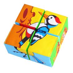 Кубики Мякиши Птицы 239