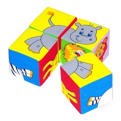 Кубики Мякиши Животные 2 236
