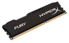 Модуль памяти Kingston HyperX Fury Black DDR3 DIMM 1600MHz PC3-12800 CL10 - 8Gb HX316C10FB/8