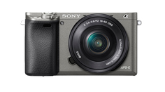 Фотоаппарат Sony Alpha A6000 Kit 16-50 mm F/3.5-5.6 E OSS PZ Gray