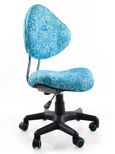 Компьютерное кресло Mealux Aladdin Light Blue Rings EVO Y-520 BS