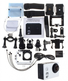 Экшн-камера Prolike 4K Silver PLAC001SL