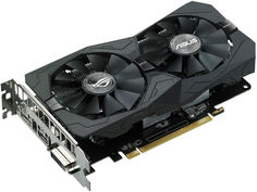 Видеокарта ASUS Radeon RX 560 1326Mhz PCI-E 3.0 4096Mb 7000Mhz 128 bit DVI HDMI HDCP Strix Gaming OC ROG-STRIX-RX560-O4G-GAMING