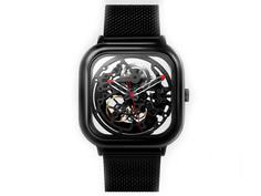 Часы наручные аналоговые Xiaomi Ciga Design Anti-Seismic Mechanical Watch Wristwatch Black