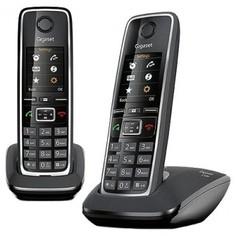 Радиотелефон Gigaset C530 DUO Black