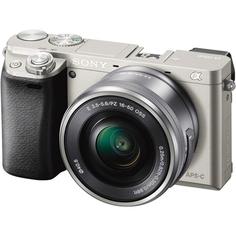 Фотоаппарат Sony Alpha A6000 Kit 16-50 mm F/3.5-5.6 E OSS PZ Silver