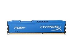 Модуль памяти Kingston HyperX Fury Blue DDR3 DIMM 1866MHz PC3-15000 CL10 - 4Gb HX318C10F/4