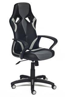 Компьютерное кресло TetChair Runner искусственная кожа Black-Grey 36-6/tw12/tw-14 11 734