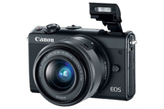 Фотоаппарат Canon EOS M100 Kit EF-M 15-45 IS STM Black