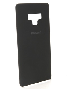 Аксессуар Чехол-накладка Samsung Galaxy Note 9 Silicone Cover Black EF-PN960TBEGRU