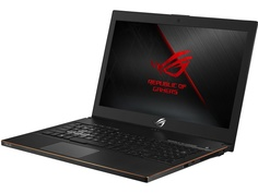 Ноутбук ASUS ROG GM501GM-EI008 90NR00F1-M01170 Black Metal (Intel Core i7-8750H 2.2 GHz/16384Mb/1000Gb + 256Gb SSD/No ODD/nVidia GeForce GTX 1060 6144Mb/Wi-Fi/Cam/15.6/1920x1080/Endless)