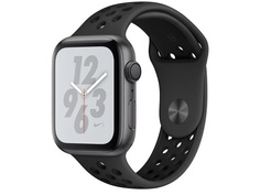 Умные часы APPLE Watch Nike+ Series 4 44mm Space Grey Aluminium Case with Anthracite-Black Nike Sport Band MU6L2RU/A