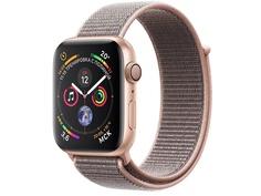 Умные часы APPLEWatch Series4 44mm Gold Aluminium Case with Pink Sand Sport Loop MU6G2RU/A
