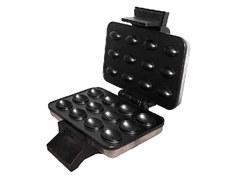 Вафельница Сластена Орешек ЭВ 1.0/220 1000Вт тефлоновое покрытие