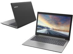 Ноутбук Lenovo IdeaPad 330-15IKB Black 81DE01DYRU (Intel Core i3-7020U 2.3 GHz/8192Mb/1000Gb/DVD-RW/Intel HD Graphics/Wi-Fi/Bluetooth/Cam/15.6/1920x1080/DOS)