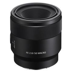 Объектив Sony SEL50M28 FE 50 mm f/2.8 Macro E-mount