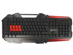 Клавиатура A4Tech B3590R Black-Grey USB