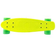 Скейт Maxcity MC Plastic Board small Yellow