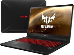 Ноутбук ASUS ROG FX705DY-AU017T 90NR0192-M01410 (AMD Ryzen 5 3550H 2.1 GHz/8192Mb/512Gb SSD/No ODD/AMD Radeon RX 560X 4096Mb/Wi-Fi/Cam/17.3/1920x1080/Windows 10 64-bit)