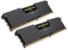 Модуль памяти Corsair Vengeance LPX DDR4 DIMM 2400MHz PC4-19200 CL16 - 32Gb KIT (2x16Gb) CMK32GX4M2Z2400C16