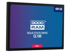 Жесткий диск 480Gb - GoodRAM CL100 Gen.2 SSDPR-CL100-480-G2