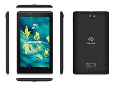 Планшет Digma Plane 7580S 4G Black PS7192PL (Spreadtrum SC9832E 1.4 GHz/1024Mb/16Gb/GPS/3G/Wi-Fi/Bluetooth/Cam/7.0/1280x600/Android)