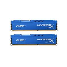 Модуль памяти HyperX Fury Blue Series DDR3 DIMM 1866MHz PC3-15000 CL10 - 16Gb KIT (2x8Gb) HX318C10FK2/16 Kingston