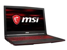 Ноутбук MSI GL63 8SC-007RU 9S7-16P812-007 (Intel Core i7-8750H 2.2GHz/8192Mb/1000Gb + 128Gb SSD/No ODD/nVidia GeForce GTX 1650 4096Mb/Wi-Fi/Bluetooth/Cam/15.6/1920x1080/Windows 10 64-bit)