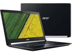 Ноутбук Acer Aspire A715-72G-758J NH.GXBER.009 (Intel Core i7-8750H 2.2 GHz/8192Mb/1000Gb + 128Gb SSD/nVidia GeForce GTX 1050 4096Mb/Wi-Fi/Bluetooth/Cam/15.6/1920x1080/Linux)