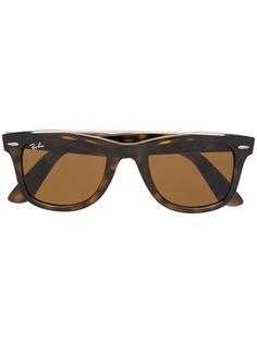 Ray-Ban солнцезащитные очки Original Wayfarer в квадратной оправе