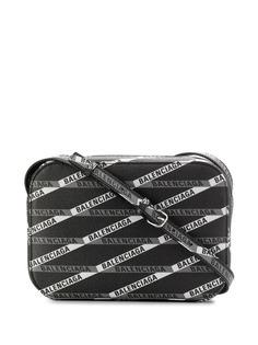 Balenciaga каркасная сумка с логотипом