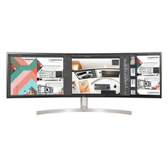 "Монитор LG 49"" 49WL95C-W белый IPS LED 5ms 32:9 HDMI DisplayPort Mat HAS 1200:1 430cd USB"